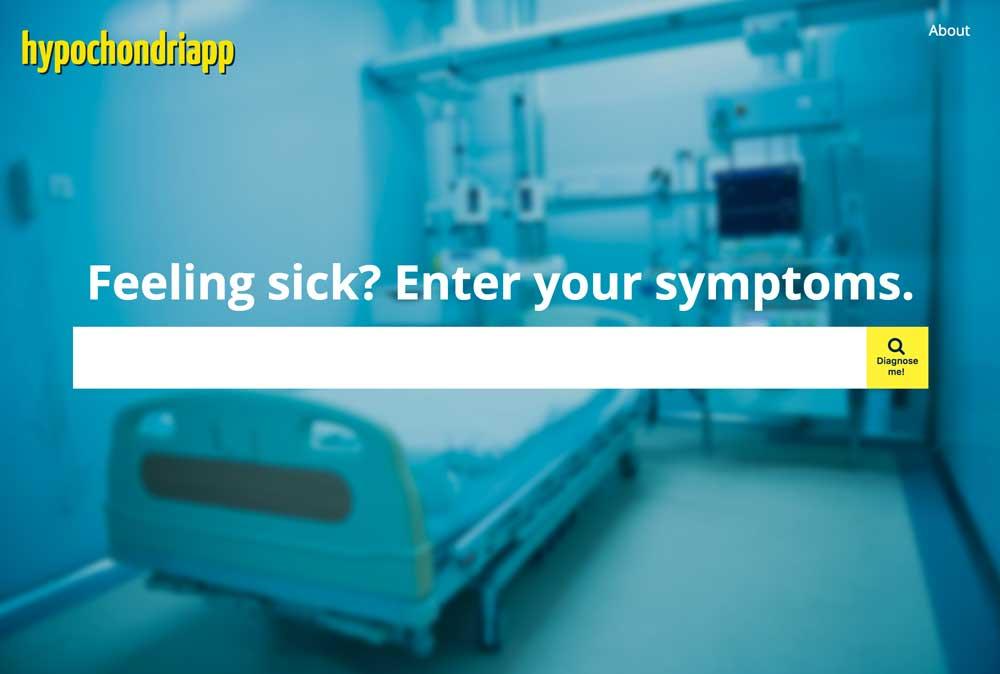Screenshot of Hypochondriapp